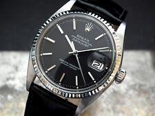 1971 Steel & White Gold Bezel Rolex Oyster Datejust Gents Vintage Watch
