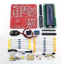 DIY Multifunction Transistor Tester Kit LCR ESR Transistor PWM Signal Generator