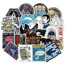 Star Trek Themed Set of 36 Assorted Stickers Decal Set