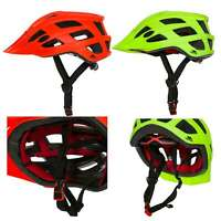 Trespass Adult Bike Helmet Lightweight Cycling Visible in Red Green Zprokit