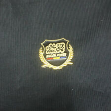 1x Metal MUGEN Golden POWER Badge Emblem Sticker Engine Car civic Sports 3D Auto