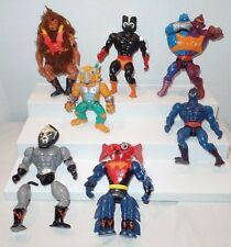 Mixed Lot Master of the Universe He-Man TV Action Figures Varied Condition 7 pc.