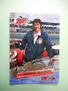 Donnie Allison signed 1993 AMERICAN THUNDER 1967 ROTY Winston Cup Card #10