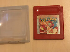 Official Pokemon: Fire Red Version (Nintendo Game Boy, 1999) Tested Working
