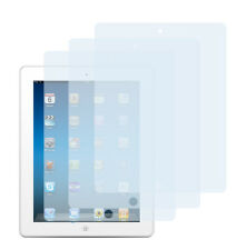 3 x Schutzfolie iPad 2 iPad 3 iPad 4 Klar Folie Crystal Clear Displayschutzfolie
