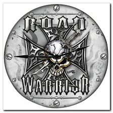 HORLOGE CADEAU MOTO MUR MOTARDS ROAD WARRIOR