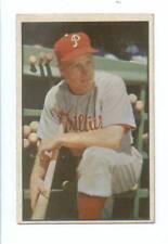 1953 Bowman Color Richie Ashburn Philadelphia Phillies Ex Mint  # 10