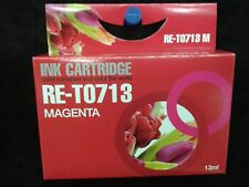 Compatible T713 magenta red ink cartridge for  stylus office printers