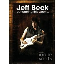 NEW JEFF BECK Performing this Week... Live at Ronnie Scott's MUSIC DVD