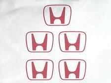 X5 Honda H Centro PAC stickers/decals Para Honda civic/crx/integra / S2000