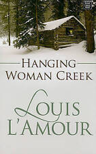 Hanging Woman Creek (Center Point Premier Western (Large Print))-ExLibrary