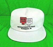 VTG K Products Wayne Feed Animal Health Hat Neddermans Feed Snapback Trucker...