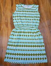 Boden Ladies GORGEOUS stripe cotton blend Blackberry dress UK 10R WH758 BRAND NE