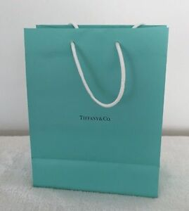 Paper Gift Tiffany & Co Authentic Blue Bags Turquoise Bag New Shopping Medium 1
