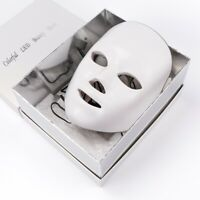 7 Colors Photon LED Therapy Face Mask Facial Skin Rejuvenation Anti-aging Beauty