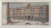 The Winter Palace Saint Petersburg Russia Tsar 100+  Y/O Ad Trade Card