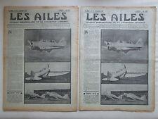 AILES 1936 797 SEVERSKY BT-8 RWD-XI AVIATION MARITIME AMIOT 110 CHERBOURG POU