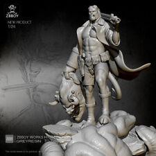1/24 kits de resina Figura MODELO Hellboy Auto-Ensamblado TD-2208