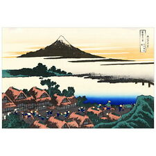Dawn at Isawa in Kai Province by Hokusai Deco FRIDGE MAGNET, Japanese Art Repro