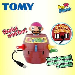 Compact Pop Up Pirate Game w/ ELECTRONIC SOUND EFFECTS Fun Family Childrens Toy