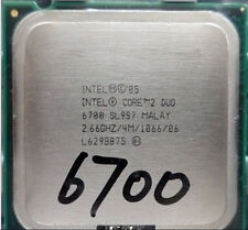 Intel Core 2 Duo E6700 SL9ZF SL9S7  2.66/4M/1066 HH80557PH0674MBX80557E6700