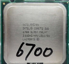 Intel Core 2 Duo E6700 SL9ZF SL9S7 Dual-Core 2.66/4M/1066 CPU Processor