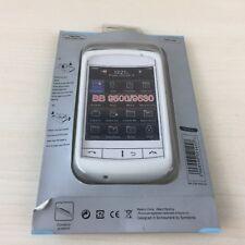 WHITE SILICON SOFT SKIN COVER FOR BLACKBERRY 9500 / 9530 - BRAND NEW - UK SELLER