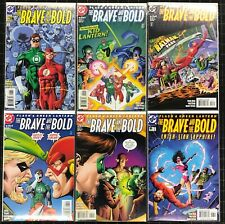 Brave and the Bold (1999) #1-6 NM Complete Set Featuring Flash & Green Lantern