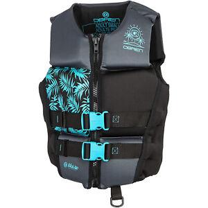 O'Brien Watersports Ladies Flex V-Back Lightweight Safety Life Jacket, Size S