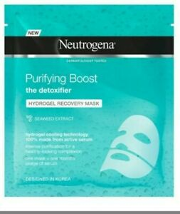 Neutrogena Purifying Boost Hydrogel Recovery Mask Seaweed Extract 30 ml