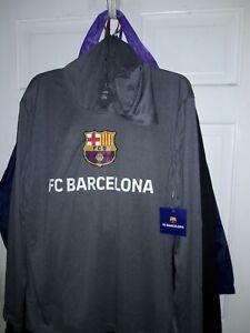 FC Barcelona soccer jersey Long sleeve T-shirt Barça fútbol camiseta Hooded XL