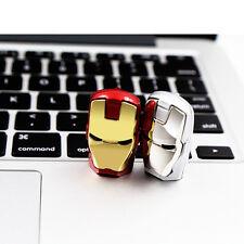 32GB Iron Man USB 2.0 Memory Stick Pen Drive Storage Thumb Disk Without Light
