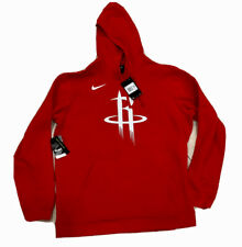 Men's Houston Rockets Nike Hoodie Sweatshirt NWT Size 2XL NBA Authentic Red Sale
