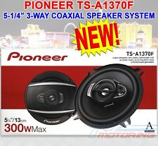 """NEW PIONEER TS-A1370F 5.25"""" 3-WAY CAR AUDIO SPEAKERS (PAIR) 300W MAX COAXIAL NEW"""