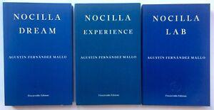 Nocilla Dream / Experience / Lab by Agustin Fernandez Mallo **Double Signed / Da