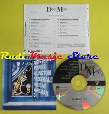 CD IL DISCO DEL MESE 7 CANZONI IN JAZZ compilation PROMO 95 HOLIDAY PRIMA (C6*)