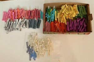 Lot of 341 Vintage Assorted Perm Rods Permanent Wave Curlers