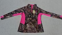 Mossy Oak Womens Athletic Jacket Camo Pink S M L XL XXL FREE North Face Headband