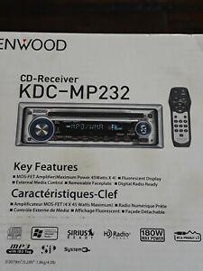 Kenwood KDC-MP232 CD Player In Dash Receiver
