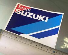 Suzuki Team Decal / Sticker for Suzuki GSXR GSXRR Moto GP Tank (100mm x 67mm)