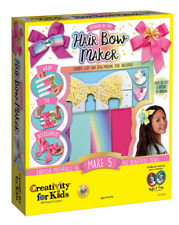 Faber-Castell Creativity for Kids Designed By You Hair Bow Maker DIY Caft Kit