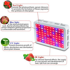 Bestva Double Chips 800W LED Grow Light Panel Full Spectrum For Plants Veg Bloom