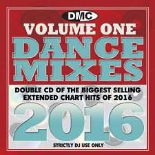 DMC DJ Only Dance Mixes 2016 Vol 1 Dance Music Double CD Set