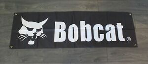 New Bobcat Banner Flag Earth Mover Heavy Machinery Construction Equipment 1.5x5