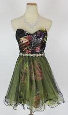 Windsor $120 Mult Evening Prom Short Gown Junior Cruise Cocktail Dress size 13