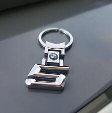 **NEU** BMW Schlüsselanhänger Edelstahl silber 5er 5 Fünfer Fuenfer