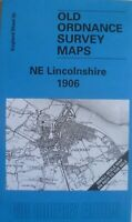OLD ORDNANCE SURVEY MAPS NE LINCOLNSHIRE  & Plan Brocklesby 1906 Sheet 90
