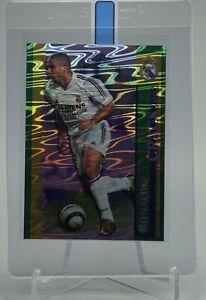 2005 Mundicromo Crack RONALDO Holo Card #52 Real Madrid La Liga Futbol 05-06