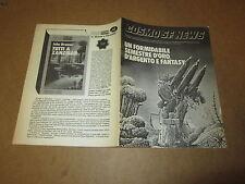 COSMO INFORMATORE FANZINE E CRITICA SUL MONDO DELLA FANTASCIENZA MARZO 1988