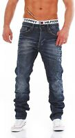 JACK & JONES NICK ORIGINAL AT611 - Regular - Blau Herren Jeans Hose